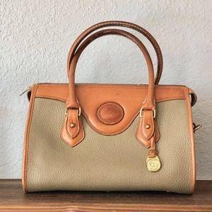 vintage Dooney & Bourke leather satchel